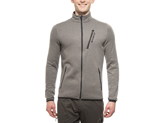 axant Anden Fleecetakki Miehet, grey/black